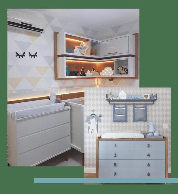 minimalismo; planejar o quarto do bebê; estilo escandinavo
